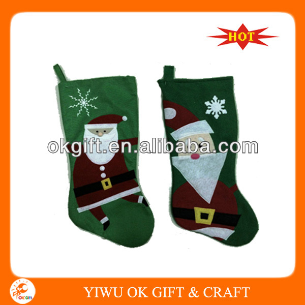 Supply All Kinds Of 2014 New Design Christmas Stockings Wholesale