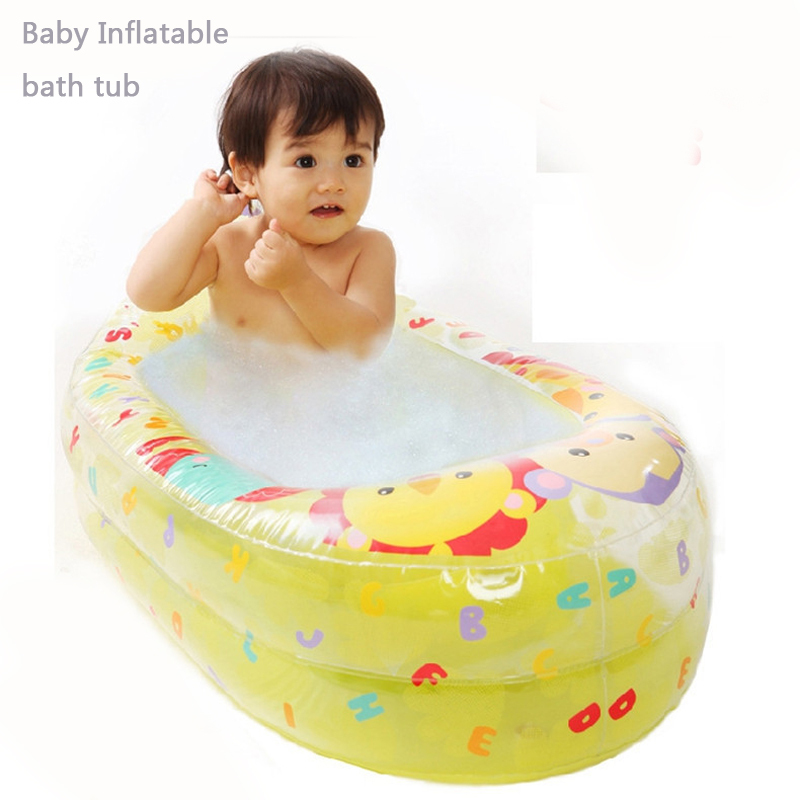 Buy Inflatable baby tub Soft Inflatable baby bathtub Eco-friendly ...
