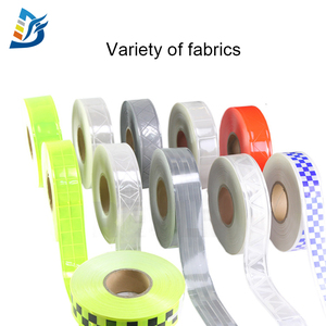 High Quality Custom Printed Checkered Clothing Retro PVC Reflective Tape