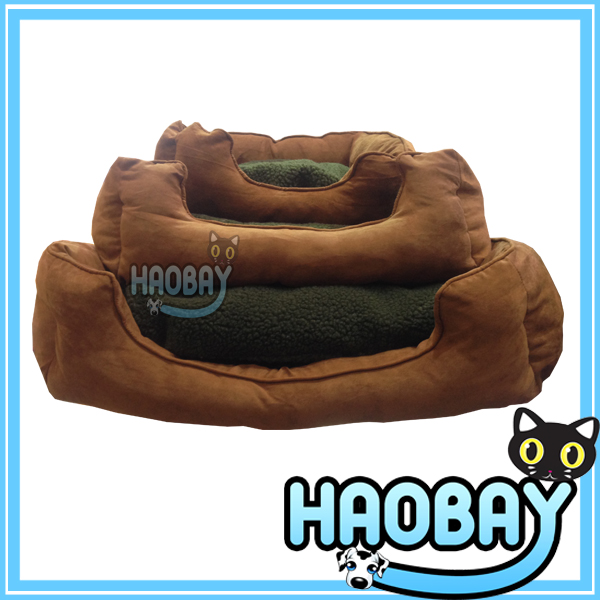 Luxury Super Soft washable cat dog beds supplier