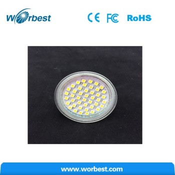 Gu10 Led Bulbs Spotlight 3w 5w 10/18 Smds Light Bulb Lamp Glass ...