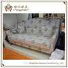 Antique living room country style sofa french provincial floral fabric tufted sofa