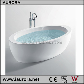 good quality grace import acrylic material freestanding bathtub