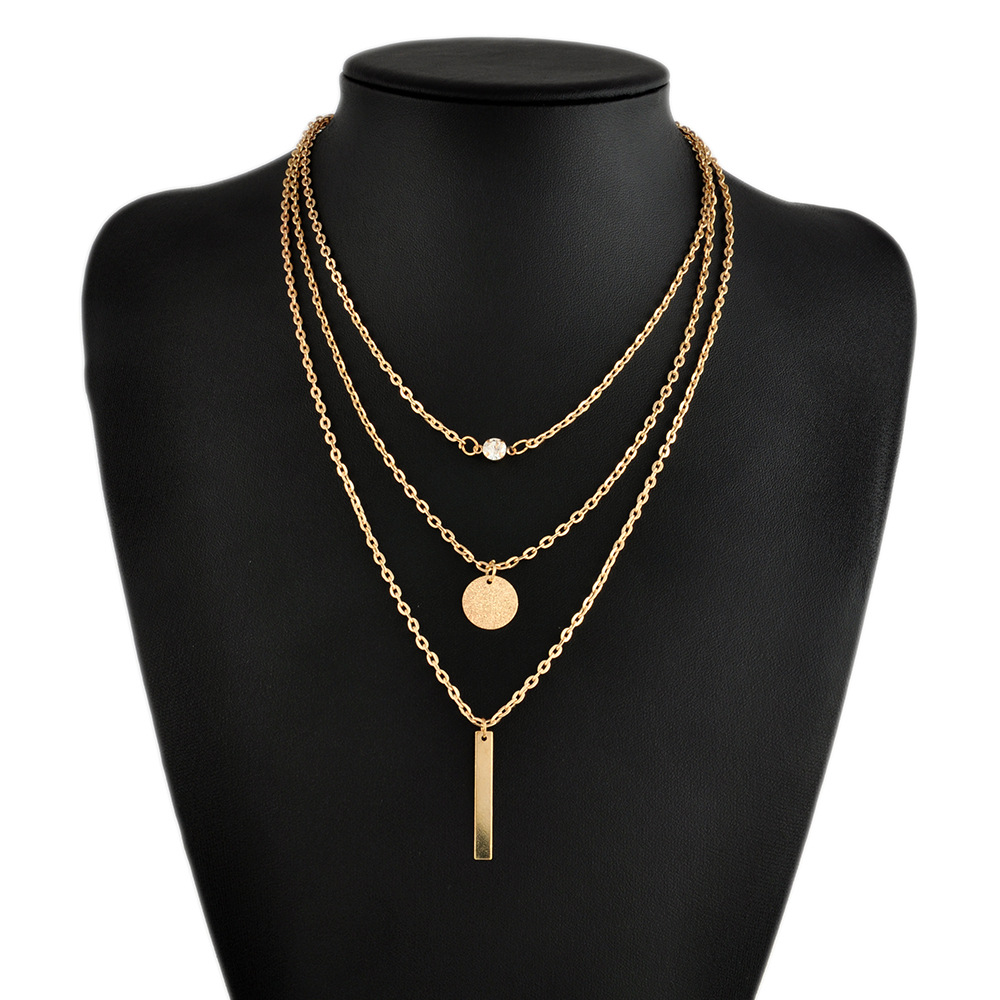 Hotsale fashion necklaces low MOQ statement necklace <strong>jewelry</strong> for women