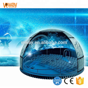 Customize vault 3d cinema screen equipment Movie free Dome theater