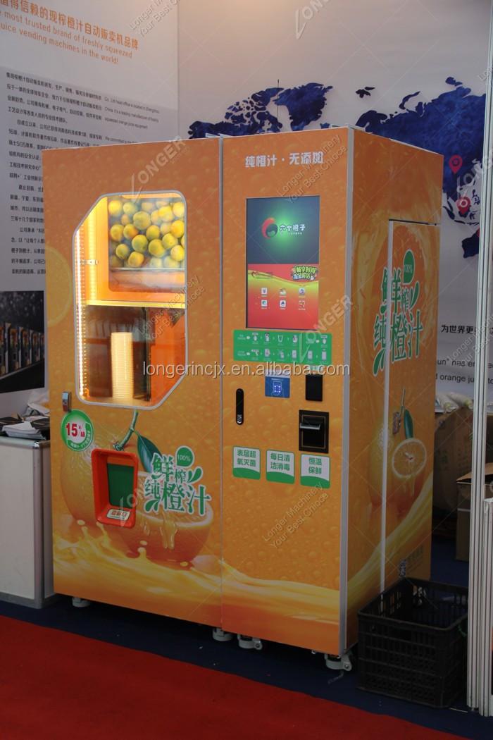 Fresh Orange Juice Vending Machine Lemon Juice Machine