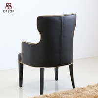 (SP-HC552)Luxury noble coffee shop meeting room leather chair
