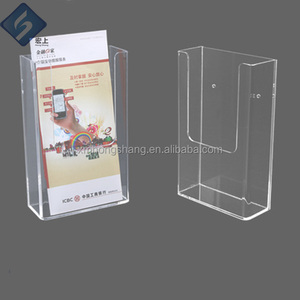 Leaflet Dispenser A4 Acrylic Display Stand