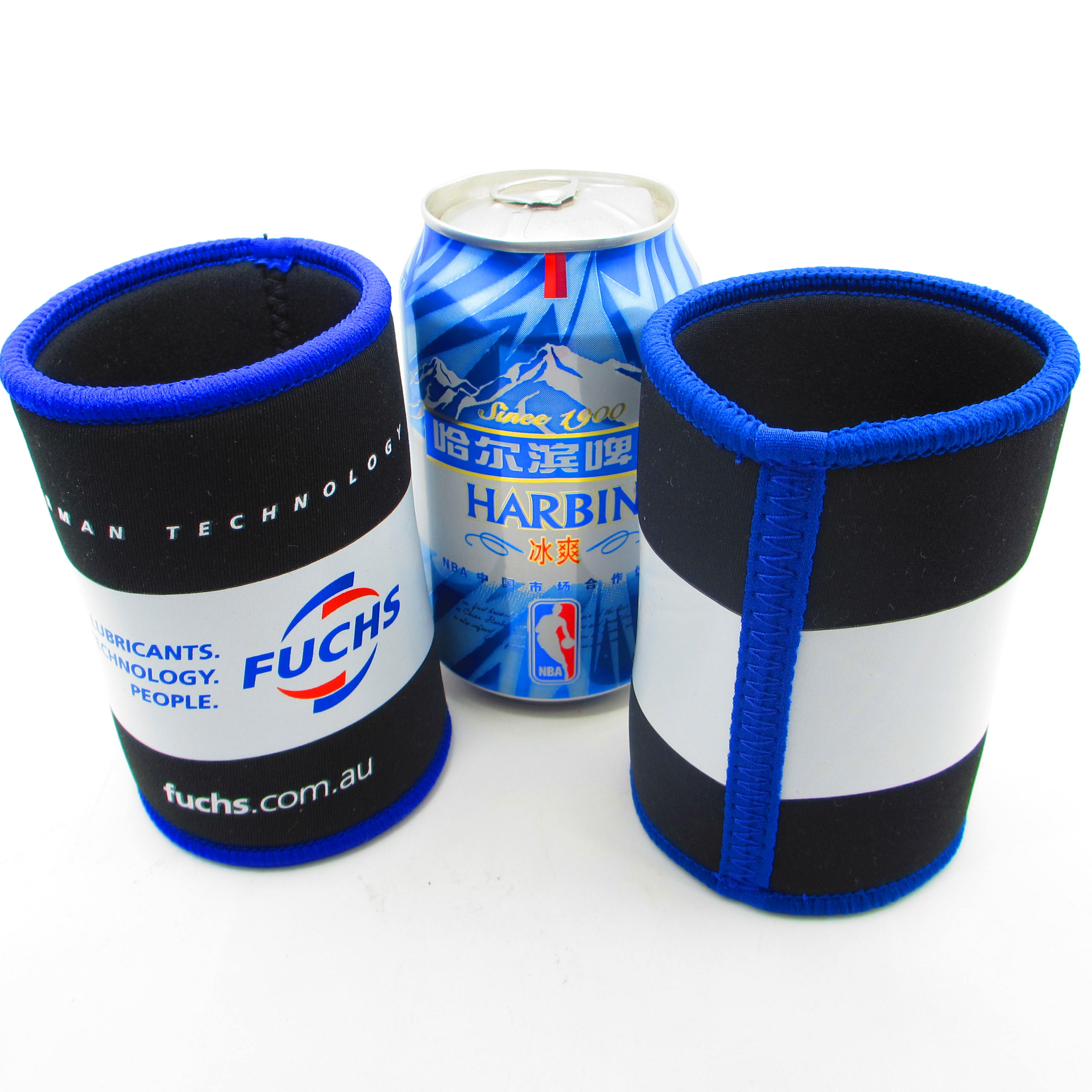 blank can wraps slap cooler/ white slap stubby holder/wrap can holder for sublimation