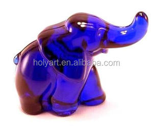 hot sale high quality glass elephant