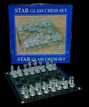 Star Glass Chess Set Buy Star Glass Chess Set Product On