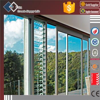 House Plans Ventilation Fixed Louvered Window/horizontal Louver ...