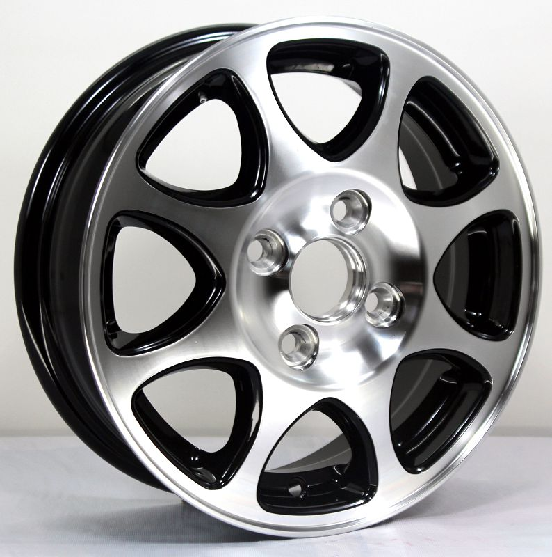 13 inch new design polishing face progressive rota car alloy wheels