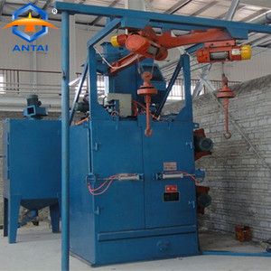 Automatic cleaning equipment Q37 industrial sandblasters/sand blasting machine