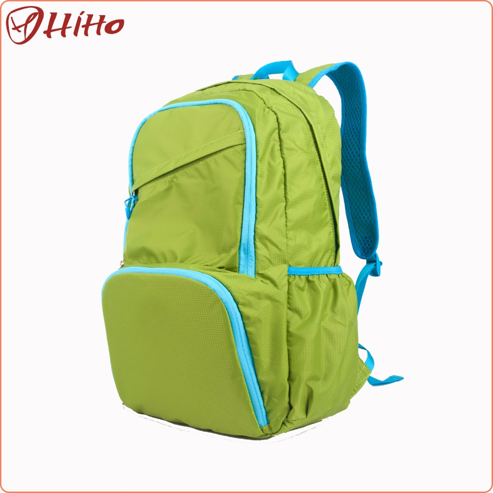 Chinese Water Proof Folding Travel Backpack