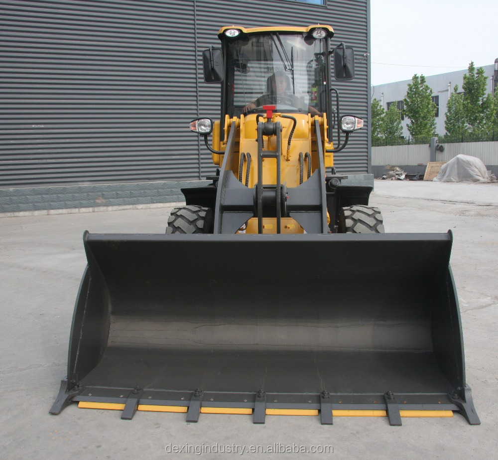Chinese Best 2 ton small wheel loader with EuroIII engine