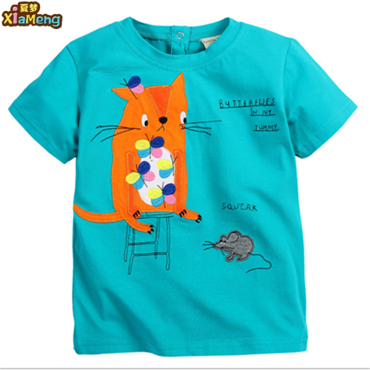 Nieuw product in china top fashion baby jongens mode t-shirt