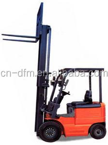 All rough terrain forklift with 6 tons rated loader terrain forklift