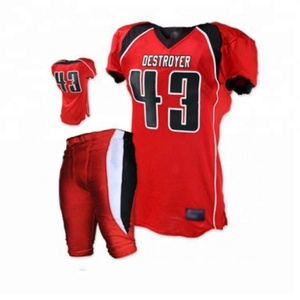 International Fashion Custom Uniform American Football Jersey เครื่องแบบ