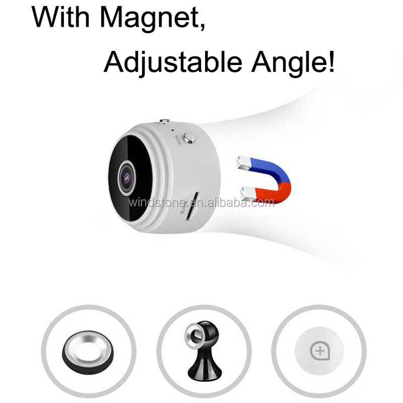 P2P Wifi IP Camera HD 1080P Wireless Camera Mini Webcam 1.0MP Security Camera Free IOS & Android APP