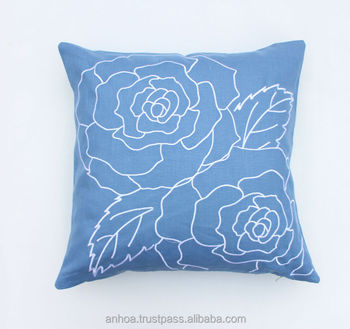 Latest Design Pillow Cover Handmade Embroidery Cushion Cover View