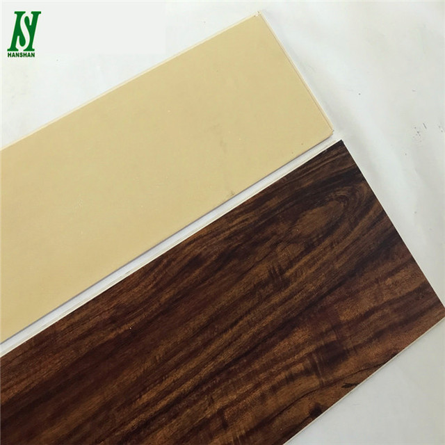 homogeneous vinyl Eco vinyl floor tiles click system spc pvc flooring