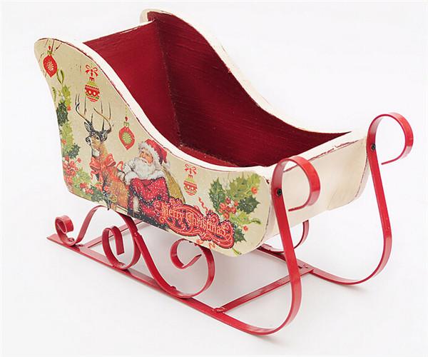 navidad trineo artesanal suministros de decoracin de navidad navidad decoracin de