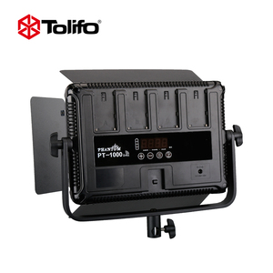 Tolifo 1008pcs Blubs Dimmable Professional Photographic Lighting Equipment LED Continuous Photography Lighting Video Panel