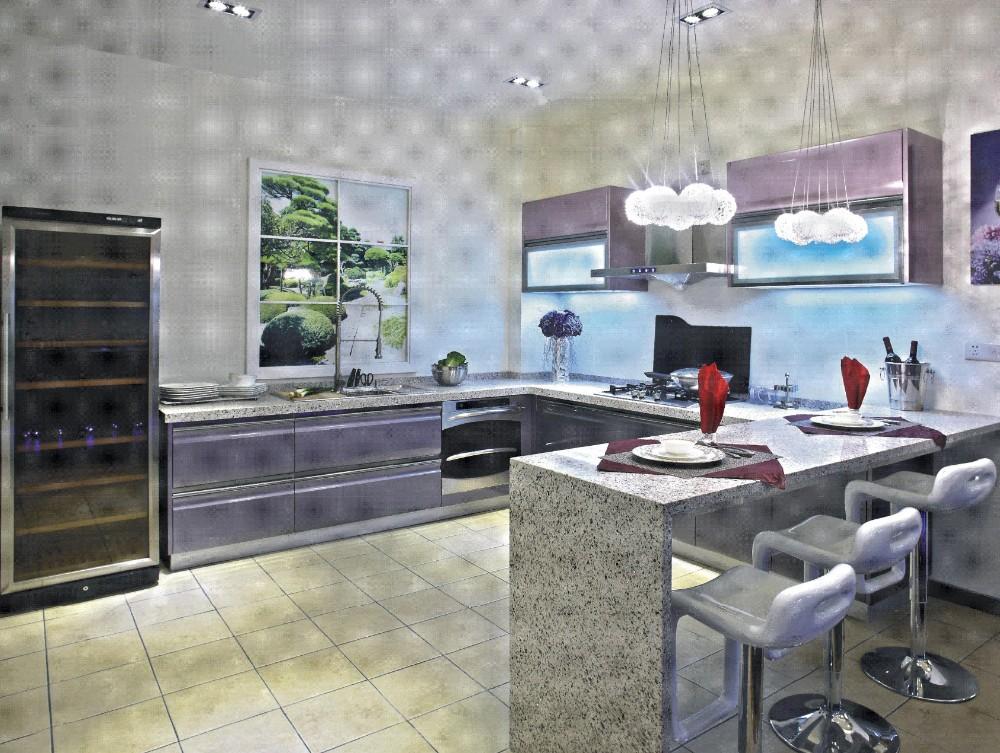 Chine Meubles De Cuisine Aluminum Glass Cabinet Doors Kitchen Design Modern Buy Aluminium Kaca Pintu Kabinet Dapur Chine Meubles De Cuisine Dapur Desain Moderen Product On Alibaba Com