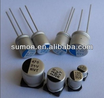 Smd 560uf 6 3v Aluminum Electrolytic Capacitor - Buy Smd Electrolytic  Capacitor Product on Alibaba com