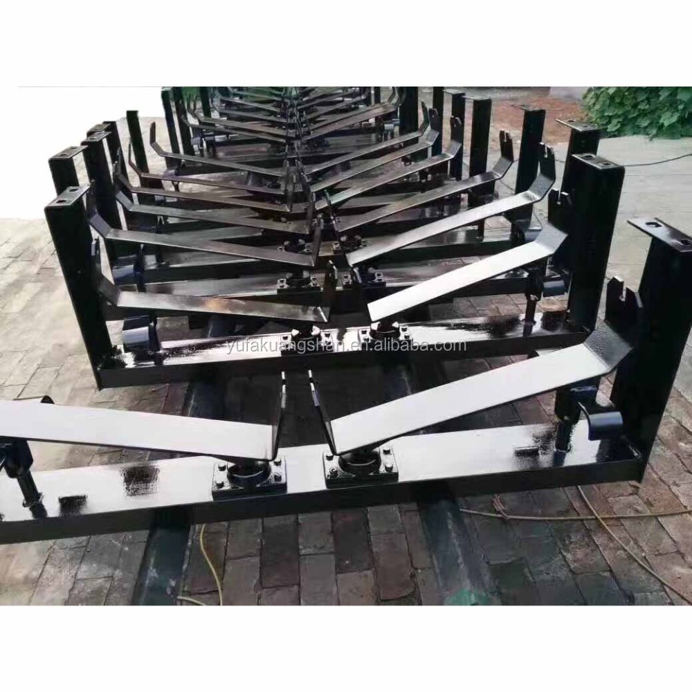 HI-Q adjust-departure conveyor trough frames for standard idler roller