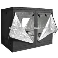 Easily assembled outdoor grow tent