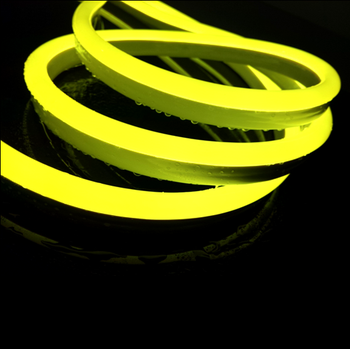 110v Mini Neon Lights Ce Rohs Standard Yellow Led Neon Rope