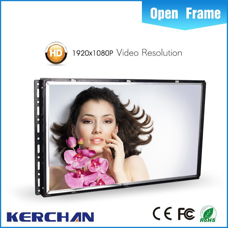 7//10/15.6/18.5/21.5 inch open frame heavy duty build pop up display