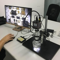 Motor drive HDMI Digital 3D digital video Microscope for industry