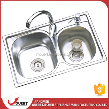 Italian Multifunction Double Bowl Stainless Steel Kitchen Sink ...