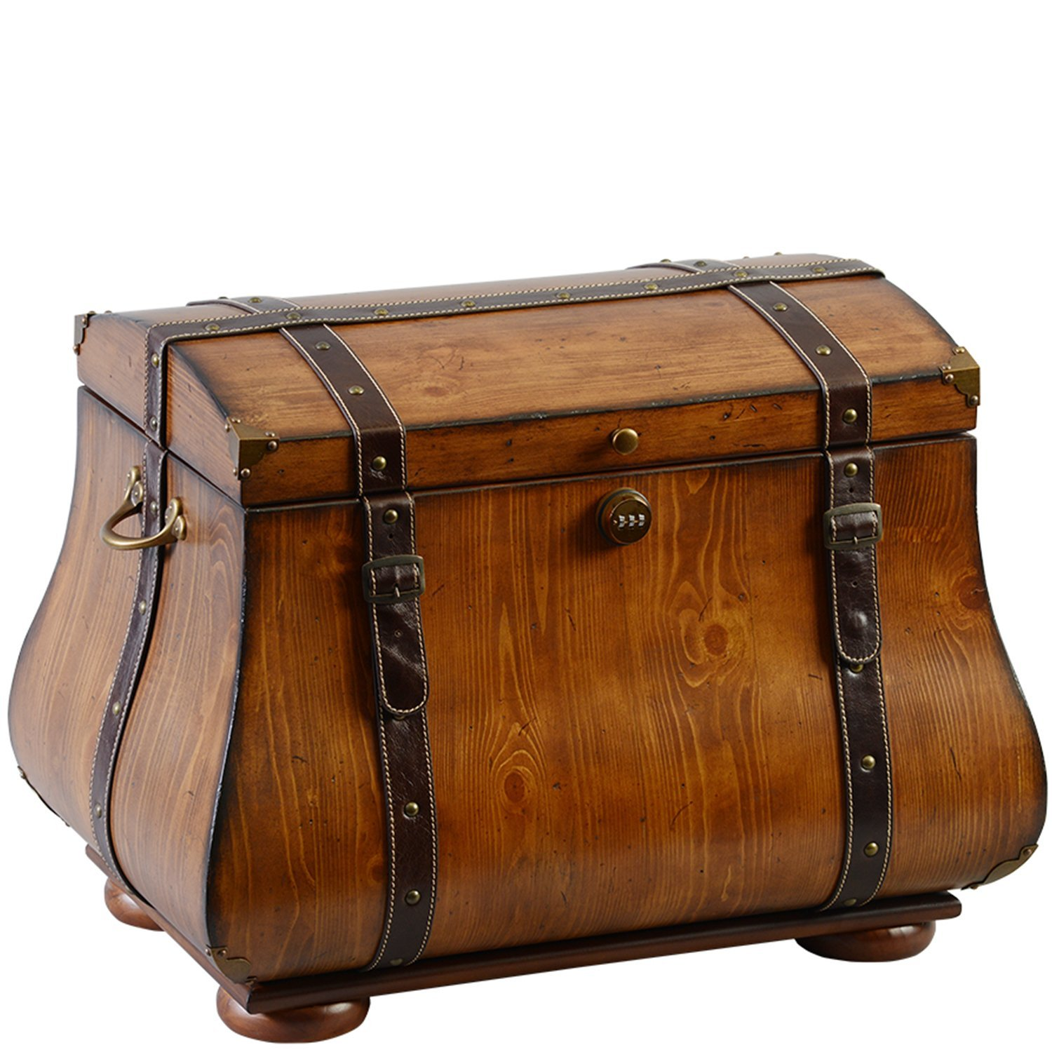 The Life Chest 123126 Wood Traveler Trunk
