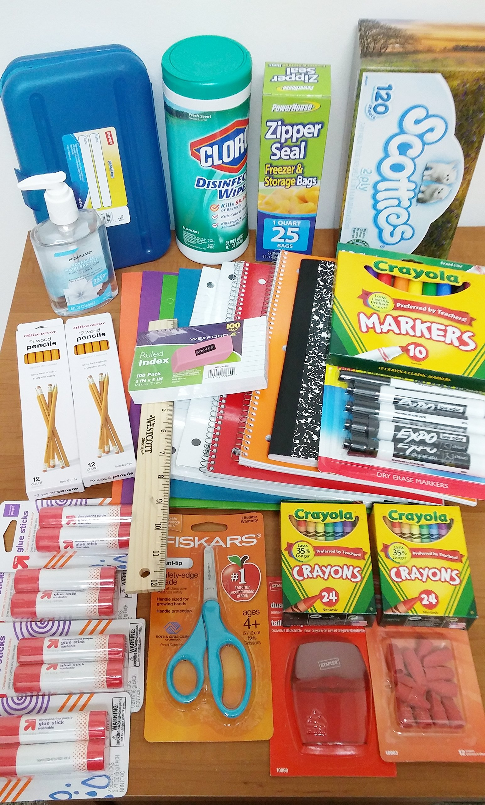 Grades K-2 Elementary School Supply Bundle