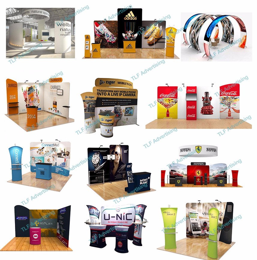 Professional Factory supply exhibition stands with aluminum material
