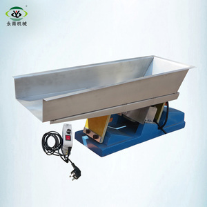high capacity linear magnetic vibration pan feeder