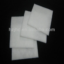 Fireproof 100% polyester nonwoven batting padding material for mattress with Oeko-Tex 100