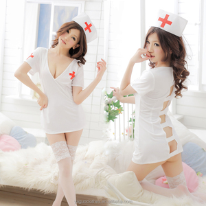 Wholesale high quality costume japanese sexy nurse uniform for women