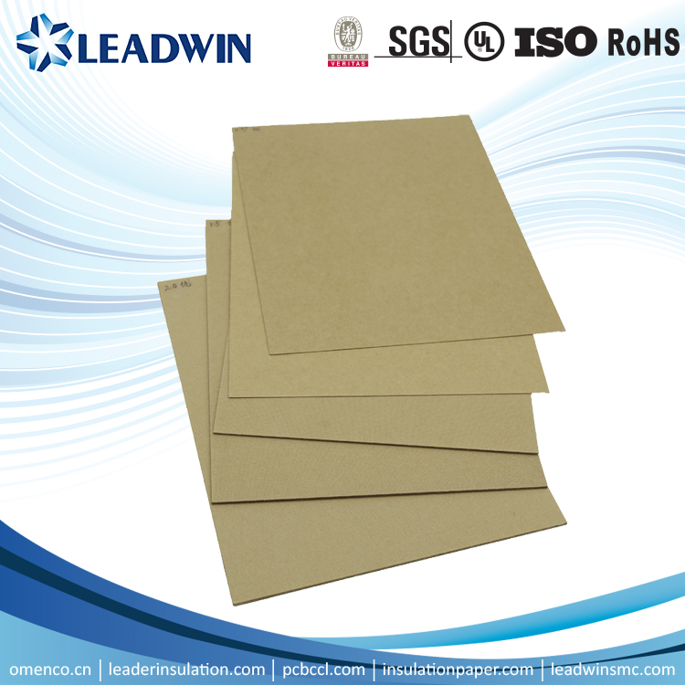 SGS High mechanical strength transformer electrical insulating pressboard/board for small motor
