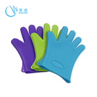 Heat Resistant / Heat Insulating Silicone Oven Cooking Gloves Protect Your Hand