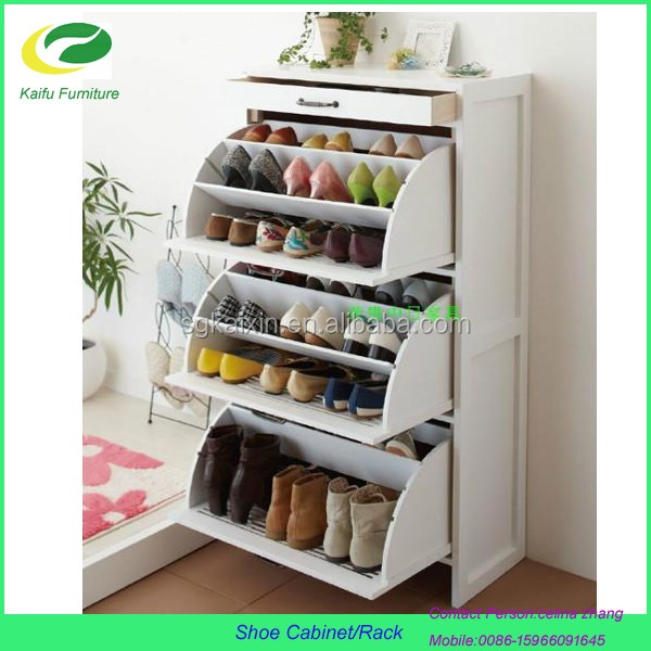 2016 New Design Modern Luxury MDF Storage Shoe Cabinet Part 37