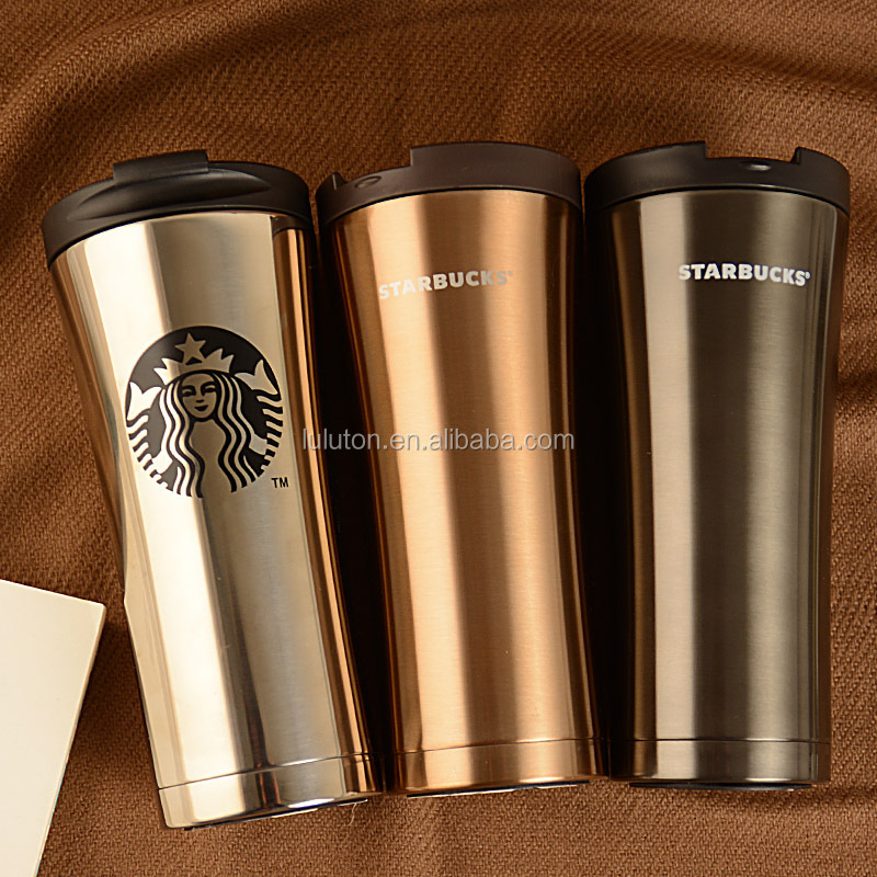 Stainless Steel Insulated Auto Mug Thermo Coffee Tumbler