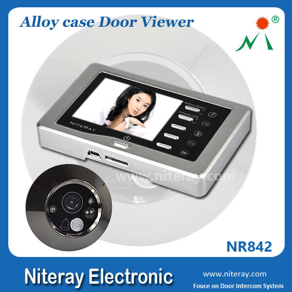 IR infrared large door peephole viewer with USB port