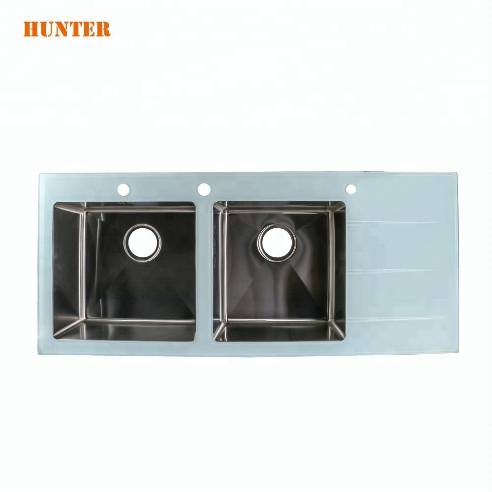 China tempered glass kitchen sink wholesale 🇨🇳 - Alibaba
