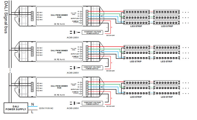 dali led driver wiring diagram   30 wiring diagram images