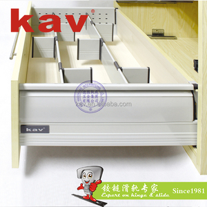 Kitchen Drawer Slide Inner Dividing System for High Fronted Pull Out Drawer